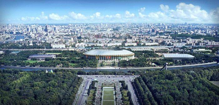Стадион в Лужниках 89,000