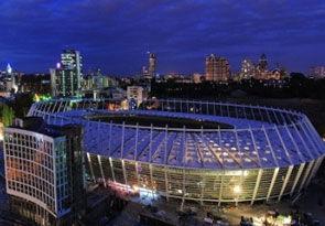 """...событие - открытие после проведенной реконструкции главной арены будущего Евро-2012 НСК  """"Олимпийский """"."""