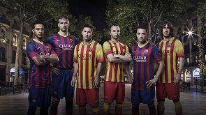 Барселона представила новую игровую форму + ФОТО