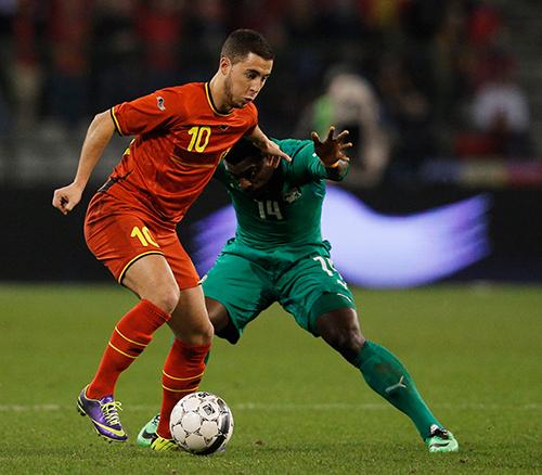 Сборная Бельгии в сложной борьбе смогла одолеть представителей Северной Африки из Алжира.