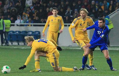 Украина обыграла Молдову и готовится к встрече со Словакией