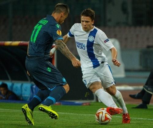 Четыре игрока Днепра вошли в сборную Лиги Европы