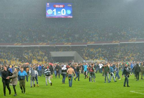 УЕФА наказал Днепр