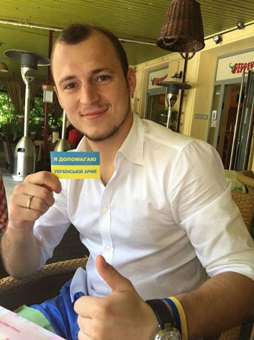 Зозуля запустил эстафету «Я помогаю украинской армии»