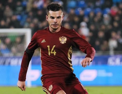 Игорь Денисов получил травму впроцессе товарищеского матча сСербией