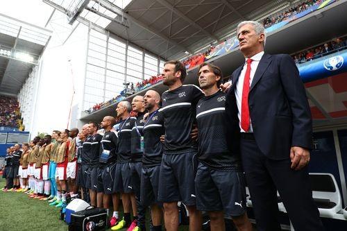 Главный тренер сборной Швейцарии - о победе над Албанией
