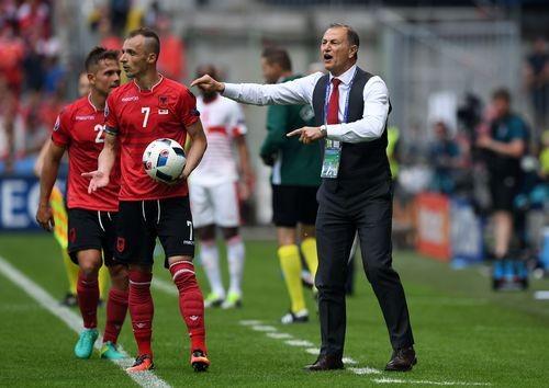 Главный тренер сборной Албании - о матче со Швейцарии