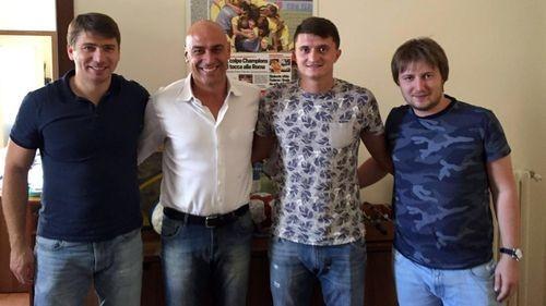 Украинский футболист подписал договор ситальянским клубом