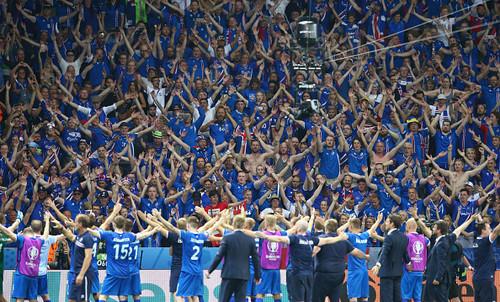 99,8% граждан Исландии увидели победу над британцами
