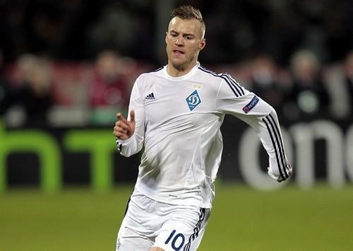Ярмоленко может пропустить матч сборной Украины против Исландии