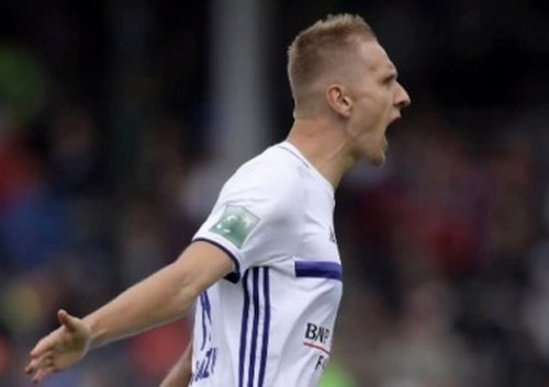Форвард «Динамо» Л.Теодорчик снова забил за«Андерлехт»