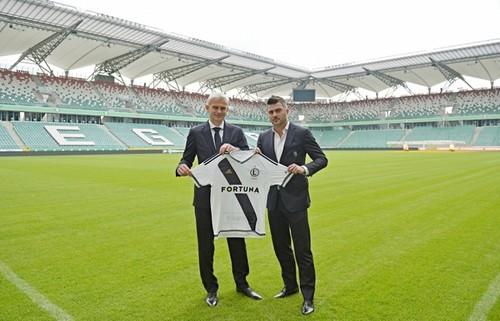 Магера назначен напост тренера Легии