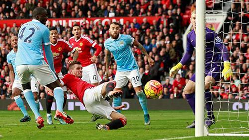 Манчестер Юнайтед— Манчестер Сити: выявитли «битва титанов» победителя?