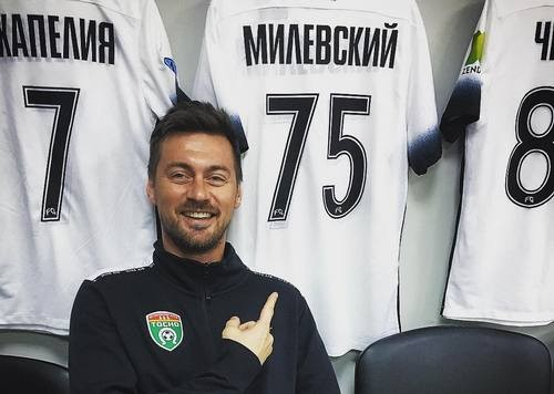 Милевский отдал голевую передачу вматче «Тосно»