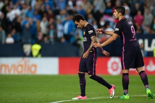 «Барселона» неожиданно уступила «Малаге» 0:2 илишилась Неймара