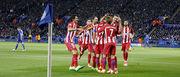 Лестер Сити — Атлетико Мадрид — 1:1. Видеообзор матча