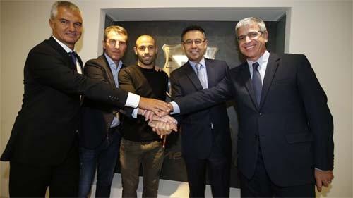 Неймар вконце рабочей недели подпишет новое соглашение с«Барселоной»