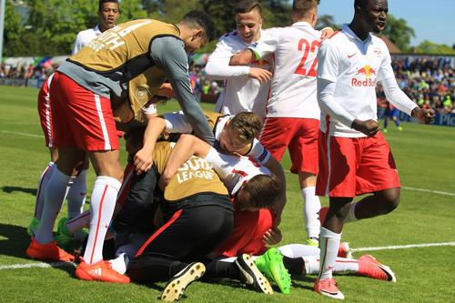 «Бенфика» и«Зальцбург» сыграют вфинале Юношеской лиги УЕФА