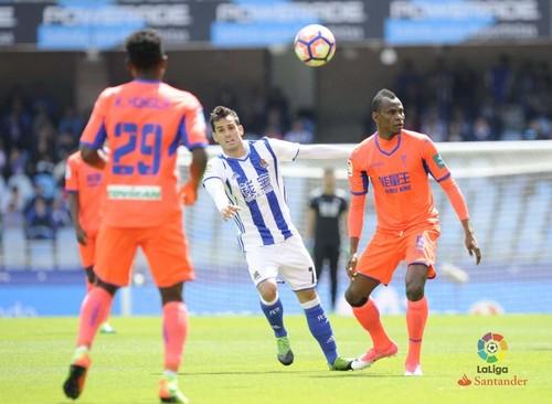 «Гранада» вылетела вСегунду после поражения от«Реал Сосьедада»