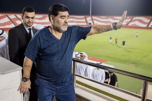 Диего Марадона возглавил футбольный клуб первого дивизиона вОАЭ