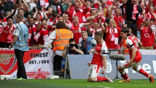«Арсенал» победил «Челси» изавоевал Кубок Британии