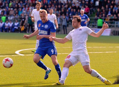 Футбольный клуб «СКА-Хабаровск» обыграл «Оренбург» в соединениях ивышел впремьер-лигу