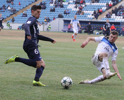 Сталь выиграла четвертый выездной матч кряду срезультатом 1:0