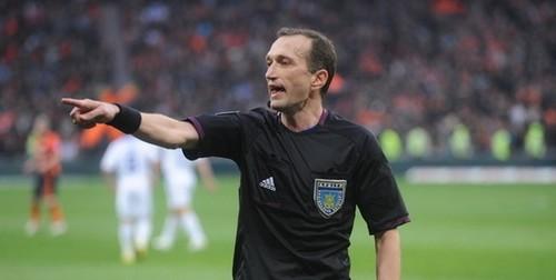 Украинский арбитр Вакс будет судить матчи воккупированном Крыму