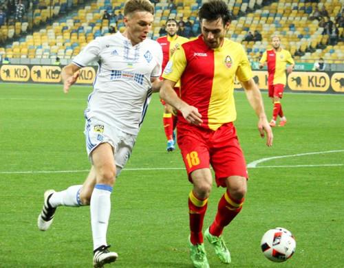 Вовтором тайме «Динамо» разгромило «Зирку» на«Олимпийском»— Чемпионат Украины