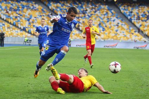 Ярмоленко вышел на 2-ое место поголам заДинамо вчемпионате Украины