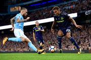 Манчестер Сити — Эвертон — 1:1. Видеообзор матча