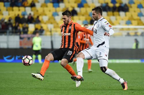 Футболисты «Шахтера» обыграли «Черноморец» вматче чемпионата государства Украины