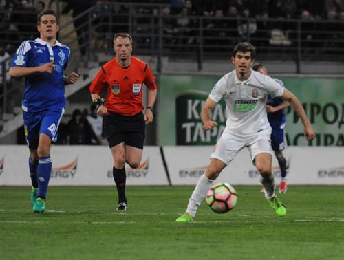 «Заря» вырвала ничью у«Динамо», проигрывая после первого тайма 0:3