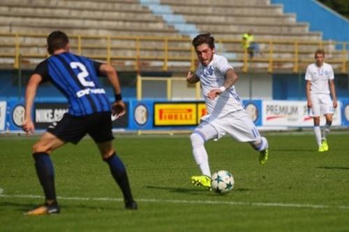 «Динамо» упустило победу над «Интером» вЮношеской лиге УЕФА