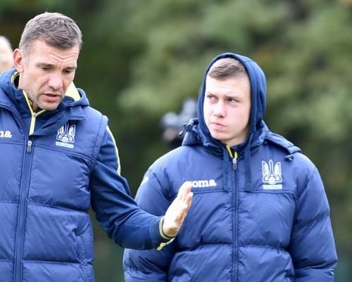 Шевченко вызвал еще двух футболистов на отборочные матчи ЧМ
