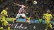 Украина — Хорватия — 0:2. Видеообзор матча
