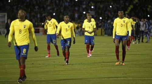 5 игроков сборной Эквадора дисквалифицированы государственной федерацией
