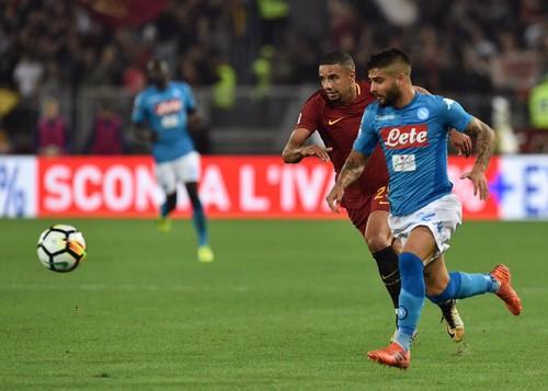 «Наполи» одержал восьмую победу подряд вчемпионате Италии, обыграв «Рому»