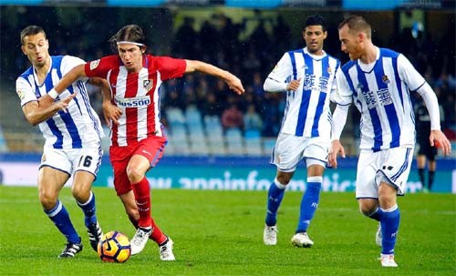 Мадридский «Атлетико» проиграл вСан-Себастьяне— Сенсация Примеро