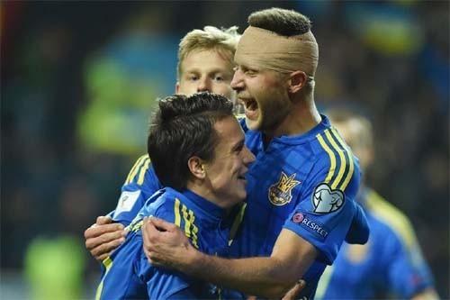 Сборная Украины проведет последний матч 2016г
