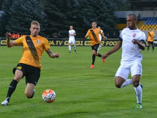 Луганская «Заря» проиграла домашний матч «Александрии»