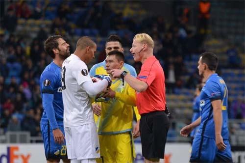 «Астана» одержала первую победу вЛиге Европы