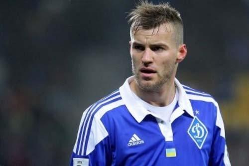 Ярмоленко обогнал Шевченко почислу забитых мячей вчемпионате Украины