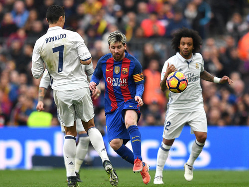 Гол Рамоса вконцовке встречи принес «Реалу» ничью вматче с«Барселоной»