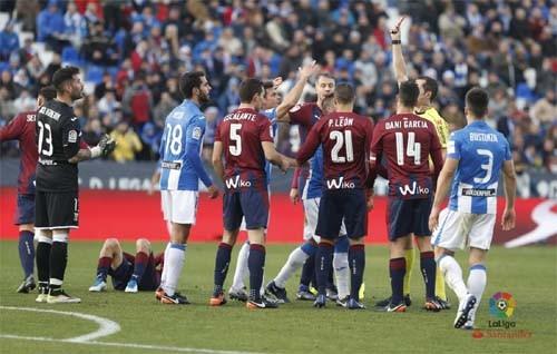 «Леганес» сыграл вничью с«Эйбаром» вматче чемпионата Испании пофутболу