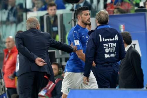 Пелле исключен изсостава сборной Италии заотказ пожать руку тренеру