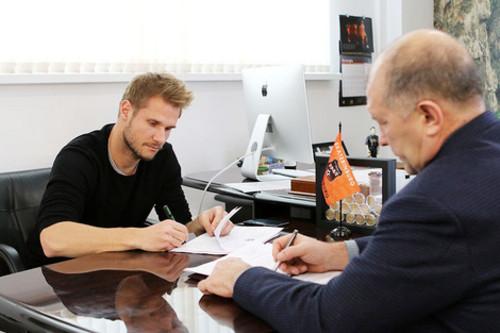Балажиц заключил с«Уралом» договор на2,5 года