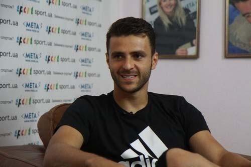 Мораес: «Ясчастлив наУкраине»