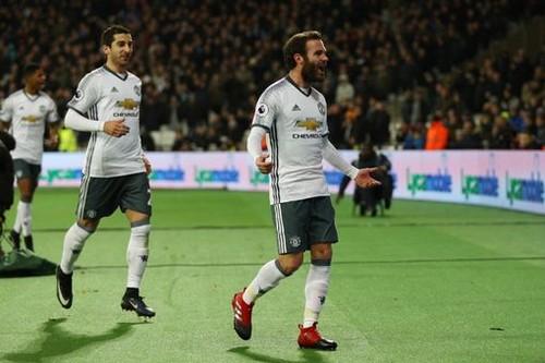 «Манчестер Юнайтед» победил «Вест Хэм» вматче чемпионата Британии