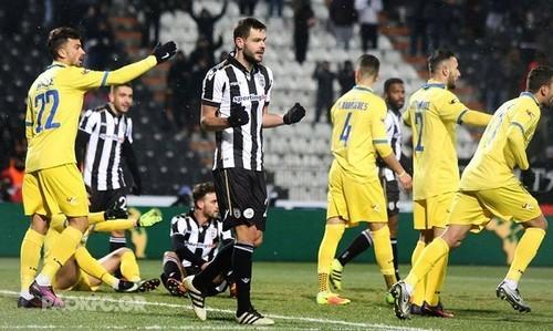 Украинский полузащитник забил дебютный гол вчемпионате Греции